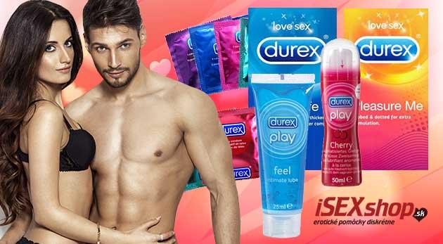 Spríjemnite si jeseň s kvalitnými výrobkami značky Durex