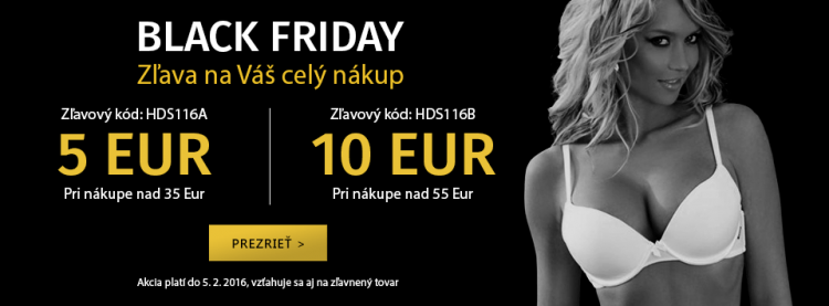 Black Friday je opäť tu!