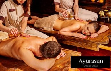 Luxusné celotelové masážne balíky v Ayurasan massages & relax