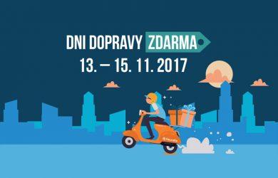 Dni dopravy zdarma 13.–15.11.2017