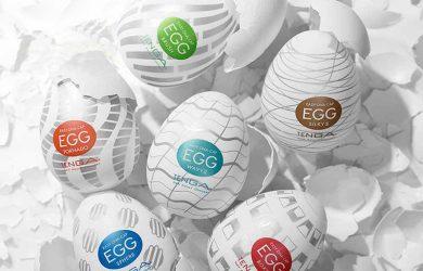 malé nenápadné vajíčka Tenga Eggs